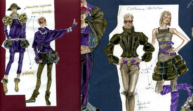 SUMMER COURSE IN FASHION ILLUSTRATION accademia italiana & Summer course in fashion illustration - Accademia Italiana