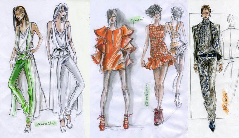 Le sfilate di milano viste dagli studenti del corso di for Corsi di fashion design milano
