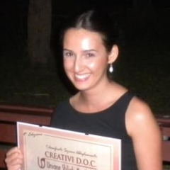 "Fashion design student takes first place in international design contest ""Creativi DOC"""