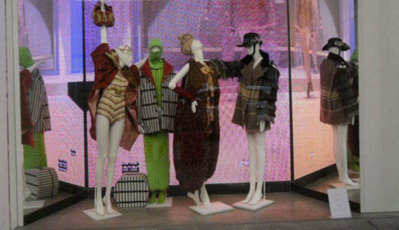 A showcase for LUISAVIAROMA. Four outfits and the video of the fashion show