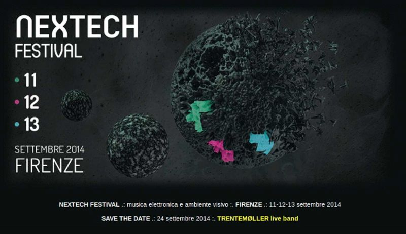 Two new graduates from the Accademia Italiana responsible for the graphics at the Nextech Festival