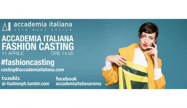 Accademia Italiana fashion casting