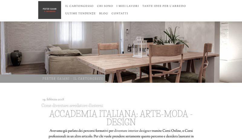 Come diventare arredatore d 39 interni accademia italiana for Corso arredatore