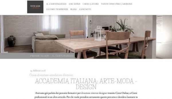 Corso di laurea in interior e product design accademia for Scuola arredatore d interni