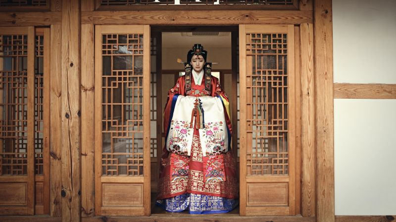 Hanbok traditional clothing