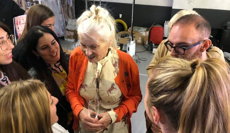 VIVIENNE WESTWOOD CALLS OUR STUDENTS